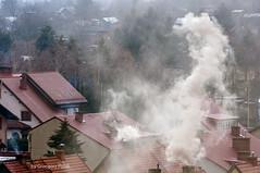 Ghost out of the chimney (Grzesiek.) Tags: chimney urban town smoke ghost duch komin kamiennagra dym