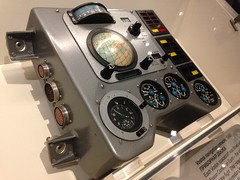 Vostok navigation console (Inkysloth) Tags: london industry museum technology space astronaut science cosmos sciencemuseum cosmonaut spacescience