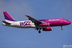 Wizzair --- Airbus A320 --- HA-LPL (Drinu C) Tags: plane aircraft aviation sony airbus dsc a320 wizzair mla lmml halpl hx100v adrianciliaphotography