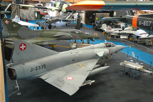 Swiss Air Force Dassault Mirage IIIS and IIIRS