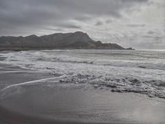 Portmn. La huella del hombre (Juandalfweb) Tags: sea mar mine mediterranean mediterraneo olympus mining murcia mina polution contaminacin em10 portmn