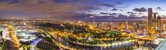 Melbourne skyline (David Williamson Photography) Tags: sunset panorama skyline canon cityscape australia melbourne victoria 1740mm melbourneskyline 5dmk3 tamron2470vc davidwilliamsonphotography