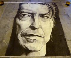 Omaggio a David Bowie (ninin 50) Tags: trip strada fineart bologna di ninin 2david bowieartista