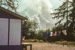 Pulp Mill (John M Poltrack) Tags: canada technology britishcolumbia places international pollution firstnations environment 1970s goldriver pulpmill mowachahtmuchalaht