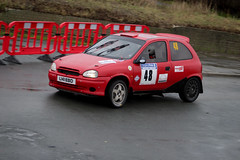 legend fire rally 2016 | cors | L141 EBo (Jgalea14) Tags: red black window glass car wheel canon fire mirror rally round physics legend blackpool 48 rotary pennington fleetwood vauxhall 2016 cors 100d