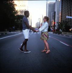 Avenida Paulista (Raf Ferreira) Tags: brazil 120 brasil rolleiflex avenida kodak bra f format 28 rafael paulo sao portra paulista ferreira peixoto 28c xenotar mediam