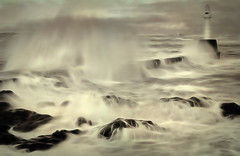Stormy Sea in Slow Motion - ABerdeen (euan_pics) Tags: sea motion slow stormy select