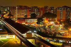 Choa Chu Kang MRT Station (fandarwin) Tags: station fan singapore darwin olympus mrt chu choa omd kang 1445 em10 fandarwin