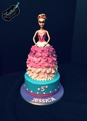 Barbie cake by Amy, Northern Utah, www.birthdaycakes4free.com