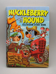 Huckleberry Hound TV Story Book (The Moog Image Dump) Tags: bear cute television book comic mr hound pixie boo story strip kawaii yogi dixie 1959 jinks huckleberry hannabarbera