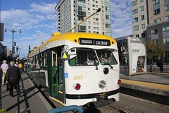 1948 St. Louis Car Co #1011 (busdude) Tags: brookville equipment co st louis car pcc streetcar muni san francisco municipal railway septa sfmuni market street tram