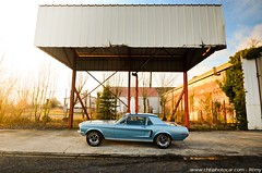 Ford Mustang Code J 1968 347 Stroker (Rémy | www.chtiphotocar.com) Tags: ford usa mustang 1968 code j 302 v8 347 stroker engine block small nikon sigma lightroom photo car muscle sports legend classic old pony horse power tiffany blue photoshoot shooting worldcars