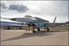MiG 1.44 (Pavel Vanka) Tags: plane airplane experimental fighter russia moscow jet spot airshow prototype planes static rare 142 spotting flatpack mig fifth mikoyan maks 144 lii mikoyangurevich 5thgeneration ramenskoe zhukovskiy russianairforce mig144 mig142