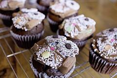 Bunny Cakes (plainmama) Tags: easter dessert cupcake