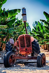 Banana Plantation Incorporated (be.image photography) Tags: old plant tractor abandoned broken rural vintage countryside grunge rustic rusty cyprus banana retro plantation vehicle agriculture rundown frontview seacaves paphosdistrict