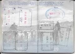 US Passport Multiple Entry/Exit Stamps (Taylor Mc) Tags: usa portugal faro us airport buffalo europe unitedstates stamps lisboa lisbon sarajevo bosnia unitedstatesofamerica serbia poland stamp herzegovina warsaw exit belgrade passport beograd gdansk entry visa hercegovina stempel schengen bosna modlin bosniaandherzegovina surin bosnaiherzegovina