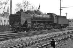 TCDD 46014 at Adapazari (Bingley Hall) Tags: railroad blackandwhite monochrome train turkey transport engine rail railway steam transportation locomotive 480 1976 g8 krupp prussian adapazari tcdd