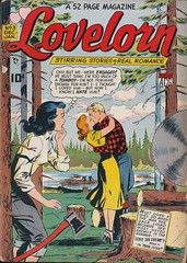 Lovelorn 3 (Michael Vance1) Tags: woman man art love comics artist marriage romance lovers dating comicbooks relationships cartoonist anthology silverage