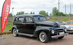 1953 Volvo PV 831 (crusaderstgeorge) Tags: cars volvo sweden gvle sverige pv classiccars 1953 831 jrnvgsmuseum blackcars jrnvgsmuseet 1953volvopv831