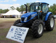 New Holland T4.90. (dccradio) Tags: sky tractor sc festival clouds fun myrtlebeach southcarolina bluesky fair entertainment ag agriculture tractors countyfair agricultural farmequipment farmmachinery communityevent newholland myrtlebeachspeedway horrycounty horrycountyfair altmantractorofconway
