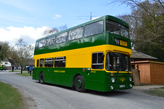 AN262 KPJ262W (PD3.) Tags: show west bus london heritage history buses pits museum vintage sussex chalk coach centre country an historic preserved 262 leyland psv pcv amberley kpj atlantean 262w kpj262w an262