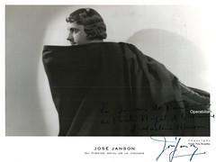 JANSON, Jos, Faust (Operabilia) Tags: opra autographe faust monnaie oprette gounod tnor josjanson claudepascalperna