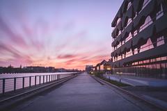 Berlin Sky (philippdase) Tags: city longexposure sunset sky berlin architecture spring cityscape sigma mediaspree leebigstopper nikond7100 sigma1835mm18 philippdase