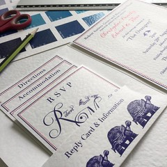 Honeymoon in the Galapagos inspires this wedding invitation design (Inki Pinki Weddings) Tags: wedding port square hotel tortoise galapagos finch invitation squareformat mansion darwins bespoke personalised lympne iphoneography instagramapp uploaded:by=instagram