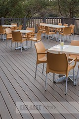 Hospitality_African Pride Cafe_Infinity Decking_Railing_Pretoria_Installer: Decking 4 Africa (http://www.eva-last.co.za) Tags: cafe outdoor cove african infinity tiger walnut pride deck brazilian resturant railing decking hospitality rusteak