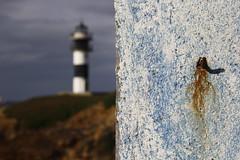 FARO DE ISLA PANCHA-RIBADEO-LUGO-GALICIA (MIGUEL PREZ) Tags: faro galicia lugo ribadeo