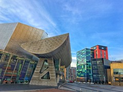 iPhoneography (HelenBushe) Tags: manchester salfordquays lowry