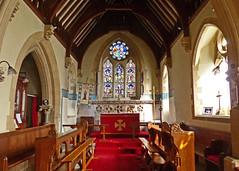 Offenham, Worcestershire, St Mary and St Milburgh (Tudor Barlow) Tags: england spring churches worcestershire 1860 listedbuilding preedy parishchurch churchinteriors offenham frederickpreedy gradeiilistedbuilding lumixfz200