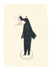 IMG_4167 (Nadav .Weisman) Tags: illustration sketch triangle tuxedo orchestra musicinstrument