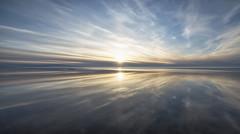 As Smooth as a Millpond (Jyrki Liikanen) Tags: sunset reflection smile clouds reflections seaside spring tranquility halo calm serene seashore cloudysky waterreflection calmsea gulfofbothnia haloring skycapture nikonphotography skypainter springseascape sunsetattheseashore