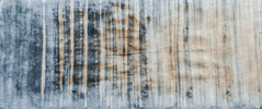 Verticals (jonnydredge) Tags: rust natural stripes eco blueberries shibori markmaking spottedhyenas