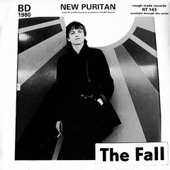 The Fall - New Puritan (recorded 1980, released 1983) (stillunusual) Tags: fall artwork vinyl single record 1983 1980 1980s sleeve thefall johnpeel recordcover markesmith roughtrade picturesleeve peelsession kickerconspiracy johnpeelsession newpuritan
