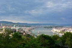 Budapest from Gellertberg