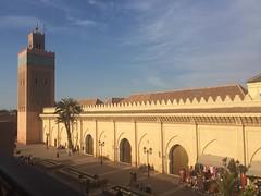 Kasbah Mosque (simononly) Tags: door vacation holiday easter march break mosaic mosque doorway morocco berber marrakech medina marrakesh iphone kasbah 2016