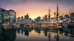 HMB Endeavour (scotty-70) Tags: boat ship sony voigtlander sydney australia nsw tallship a7 endeavour lenstagger sydneyheritagefleet
