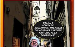 Beppe Grillo in piena andropausa farneticante (SatiraItalia) Tags: humor vignette cartoons satira