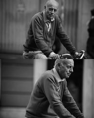 [La Mia Città][Pedala] (Urca) Tags: portrait blackandwhite bw bike bicycle italia milano bn ciclista biancoenero mirò bicicletta 2016 pedalare 8129 dittico nikondigitale ritrattostradale