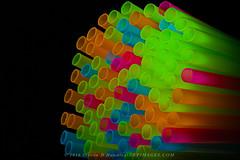 Neon Straws (NKP Images) Tags: stilllife studio fineart colorblue straws allrightsreserved colorgreen copyrighted closeupphotography colorpink darkbackground colororange donotcopy stevenhandley canon5dmarkiii neonstraws pocketwizardplusiii 2016stevendhandleynkpimages canon580exiii