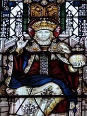 Retford - St Swithun's - Kempe Glass (Glass Angel) Tags: tower stainedglass warmemorial nottinghamshire retford kempe stswithun