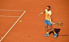 Rafael Nadal en torneo de tenis Conde de Godó, Barcelona. (eustoquio.molina) Tags: barcelona sport tennis tenis deporte rafael nadal