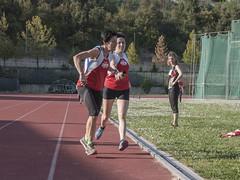 Il cambio fra Francesca Raschioni e Alberta Zamboni