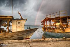 Looking at the Rainbow. (CyberDEL1) Tags: rainbow hellas greece timeless macedonian makedonia  macedoniagreece samsungnx1 samsungnx1650228s