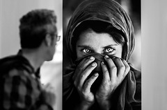 Steve McCurry a Venaria (Be Clear) Tags: mostra blackandwhite torino photography eyes stevemccurry venaria reggiadivenaria