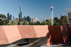Melbourne from The Shrine (martyr_67) Tags: shrine melbourne anzac