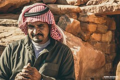 A bedouin men thinking - Petra, Jordan - Travel photography (carmine.contrafatto) Tags: people shot desert wadirum adventure thinking capture pensiero giordania bedouinman canon600d