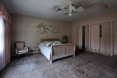 bad dreams (Desolate Places) Tags: abandoned bedroom mansion